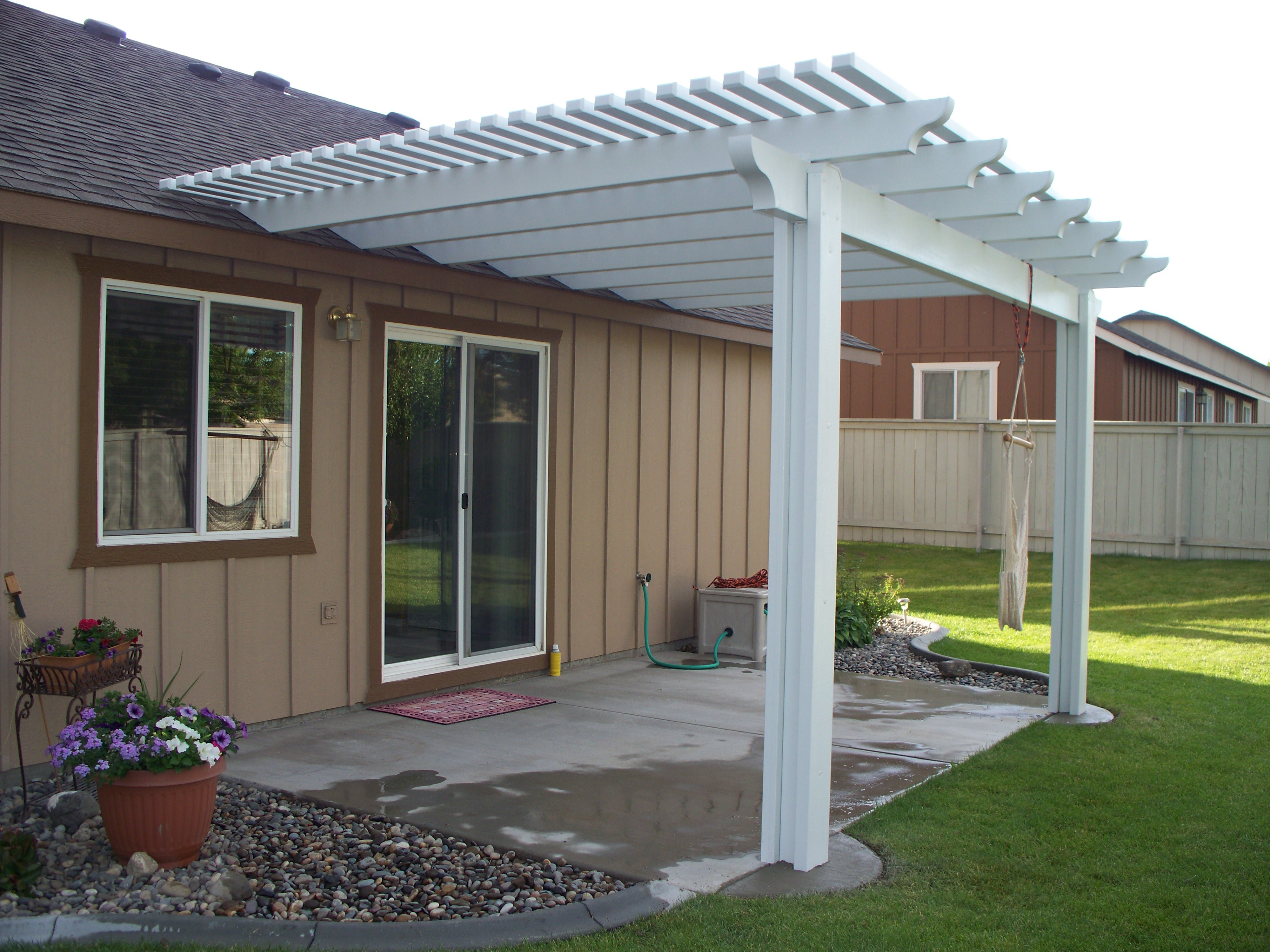 Attached Pergola To Roof Facebook