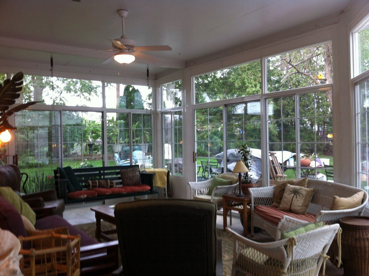 How to determine the cost of a new sunroom backyard by for How to design a sunroom