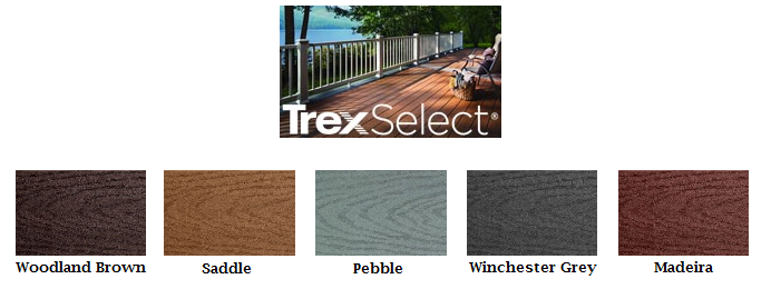 Trex Select Colors 28 Images Trex Select Woodland