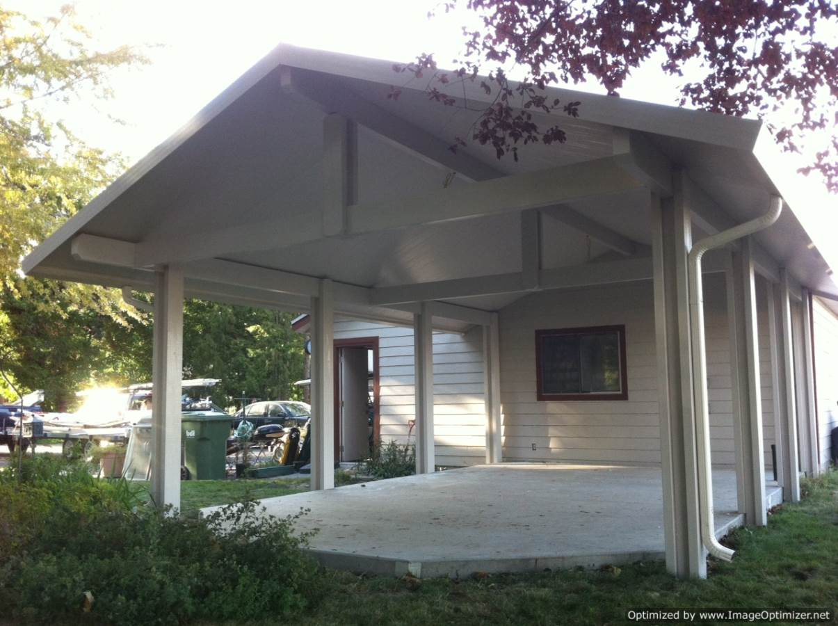 Backyard Patio Covers : backyard patio covers insulated patio covergabledgrosskennewick